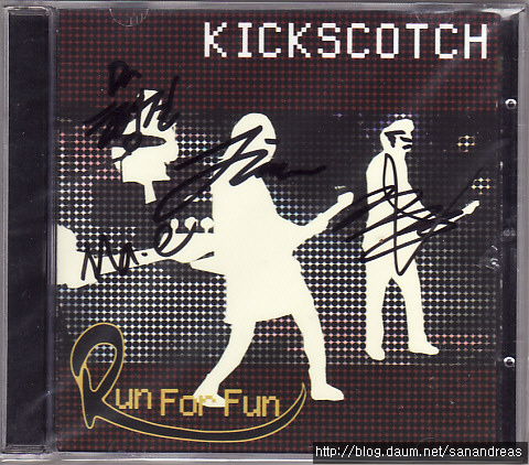 2134.킥스카치(Kickscotch) 1집 - Run For Fun