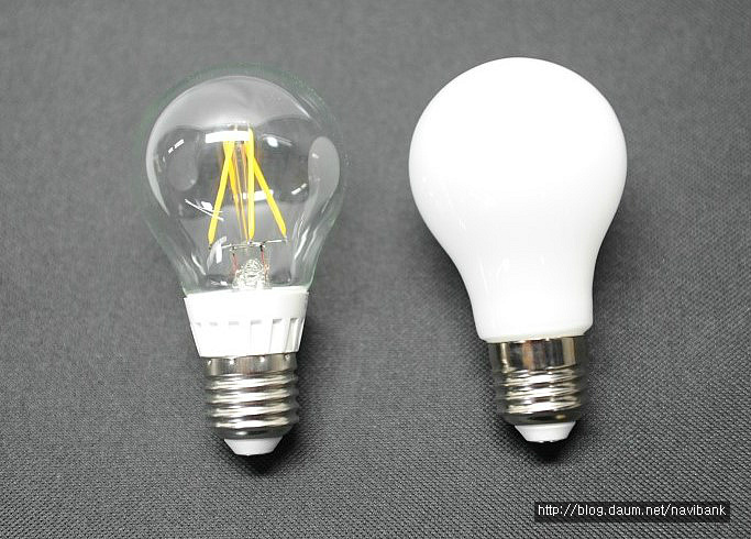 [LED조명] LED전구vs백열전구. 백열전구를 LED전구로 교체하면 ...