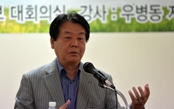 우병동 지역신문발전위원장이 한라일보를 찾은 이유는?