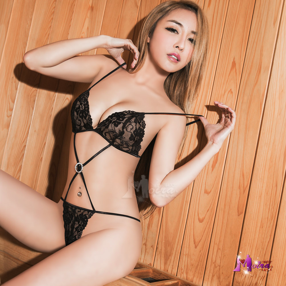 charming Chinese girl in lingerie
