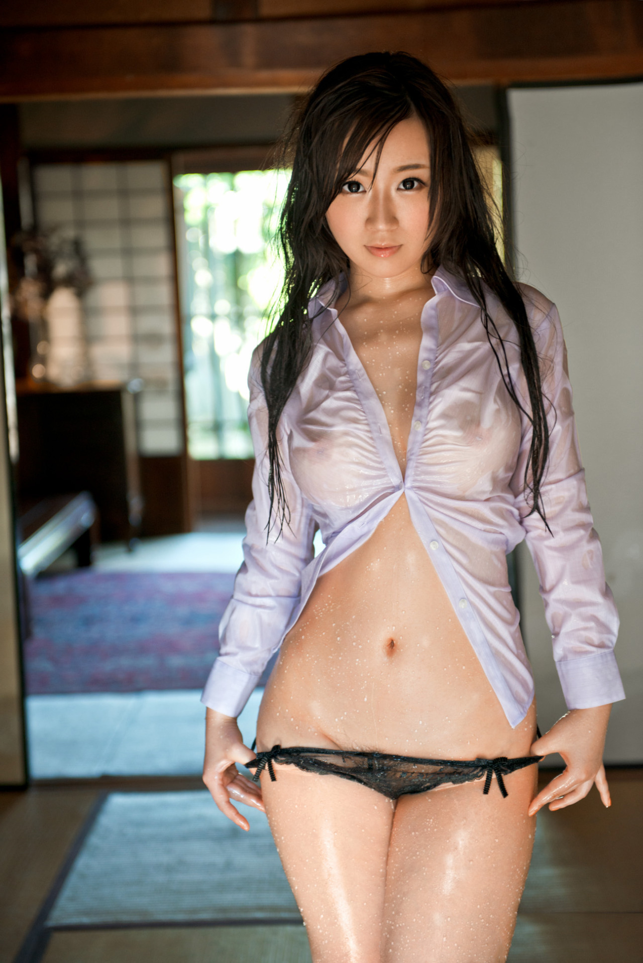 hot mood Japanese girl